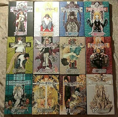Pre-Owned Death Note Manga Full Volumes 1 - 12