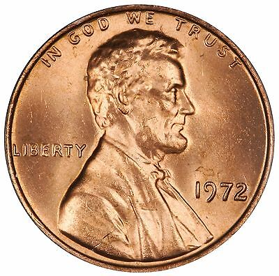 1972 Lincoln Cent- Doubled Die Obverse DDO-005 FS-105 ANACS MS 63 RED