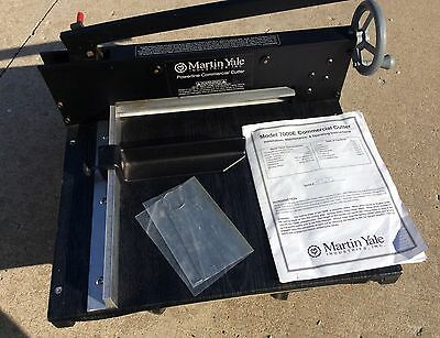 Martin Yale 7000E Heavy Duty Commercial Professional Paper Cutter Guillotine