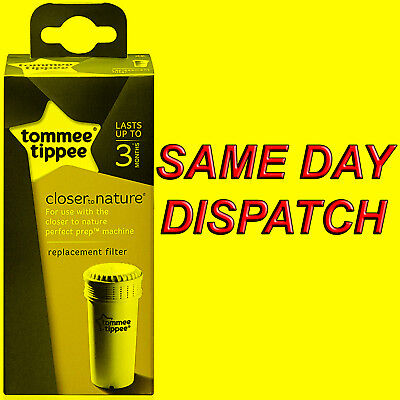 GET CASHBACK! Tommee Tippee Perfect Prep Replacement Filter 1 Unit FAST DELIVERY