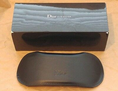 Christian Dior CD Leather Sunglasses Case