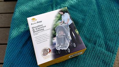 Jeep BABY Stroller & Carrier Mosquitos/Insects Netting Mesh