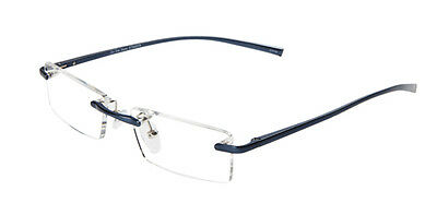 Nick - Blue Magnifying Reading Spectacle Glasses Frame Eyeglass Readers