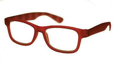Apollo - Red Magnifying Reading Spectacle Glasses Frame Eyeglass Readers