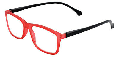 Brighton - Red Magnifying Reading Spectacle Glasses Frame Eyeglass Readers
