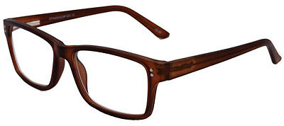 Kerry - Brown Magnifying Reading Spectacle Glasses Frame Eyeglass Readers