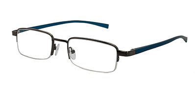 Seattle - Blue Magnifying Reading Spectacle Glasses Frame Eyeglass Readers