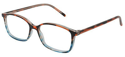 Caro - Brown Magnifying Reading Spectacle Glasses Frame Eyeglass Readers