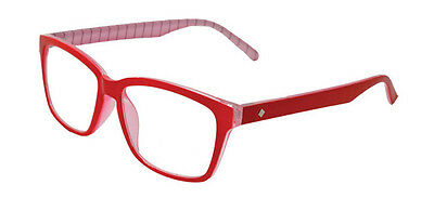 Ensign - Red Magnifying Reading Spectacle Glasses Frame Eyeglass Readers
