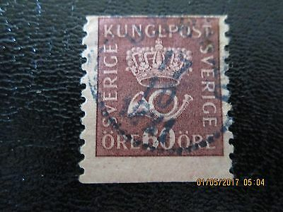 Crown & Posthorn Stamp 60 ore