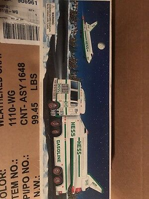 hess toy truck and space shuttle