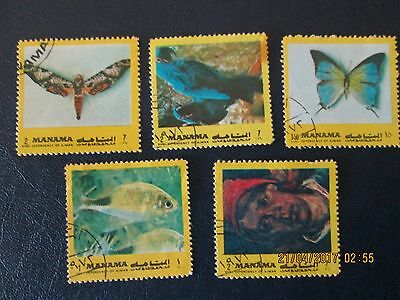 Manama Stamps