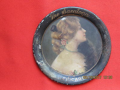 1907 The Saratoga  Chicago  Metal Tip Tray