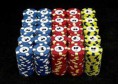 500 Rounders Movie Clay Poker Chips Set by CPC on CSQ Mold