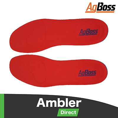 Bekina Removable Gumboot Insoles Washable Work Boot Insole
