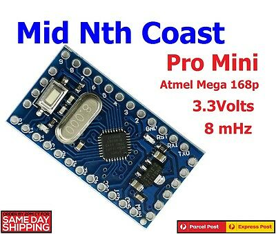 Redesign Pro Mini 3.3V 8mHz Replace ATmega128 Arduino Compatible + Headers
