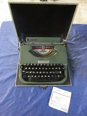 Vintage 1950s Sears Roebuck Tower Typewriter by Oliver Co of Croydon England