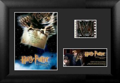 Harry Potter & the Philosopher's Stone MiniCell Film Cell Special Edition Poster