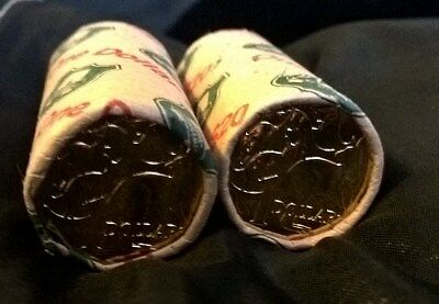 2006 One Dollar Rolls X 2 -* Mob Of Roos* - Security Rolls - Uncirculated
