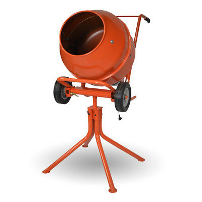 Duramix DMHM22 Portable 370W 3.5cf Cement Mixer On Stand
