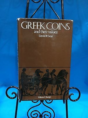 Greek Coins and their values. By: David R Sear.  Volume 1 Europe