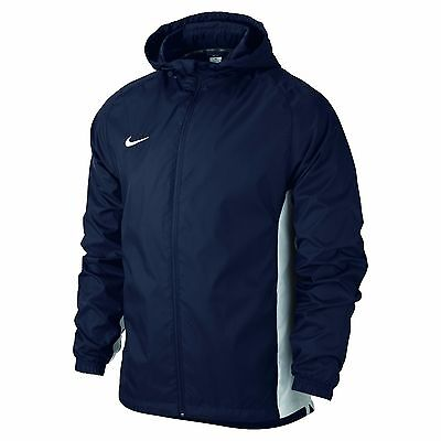 Adult Men's Midnight NIKE Navy Academy Rain Jacket - Size Large
