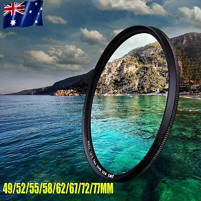 Slim CPL Circular Polarizing Polarizer filter for DSLR Camera Lens SU