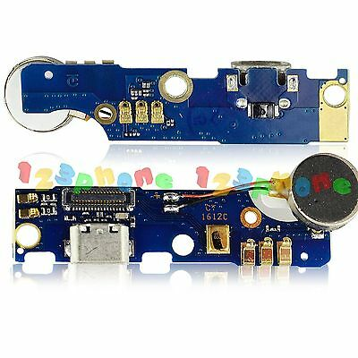 Mic + Vibrator + Usb Charging Charger Pcb Board Flex Cable For Meizu M2 Note