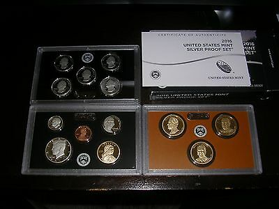 2016-S United States Mint Silver Proof Set