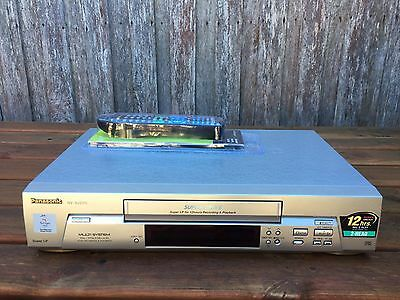 Serviced Panasonic NV-SJ200 Video Recorder Player + REMOTE VHS Player VCR A