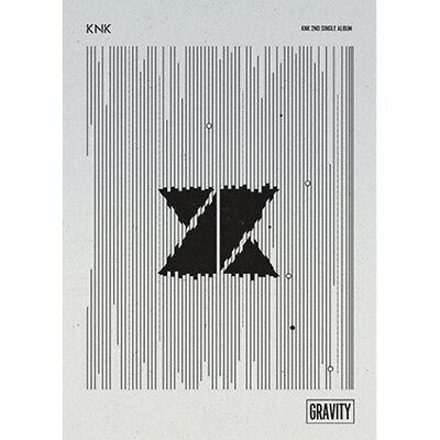 KNK - GRAVITY 2nd Single Album CD+Fotobuch+Fotokarte+Sticker Kpop Sealed