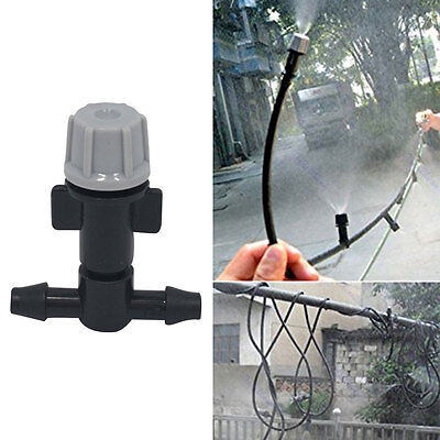 20x Portable Sprinkler Heads Nozzle + Tee joints for Misting Watering Irrigation
