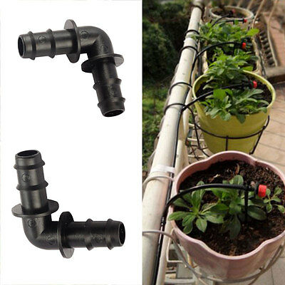 5x 90-Degree Angle Elbow Bend Corner Turn Pipe Garden Water Hose Connector Tool