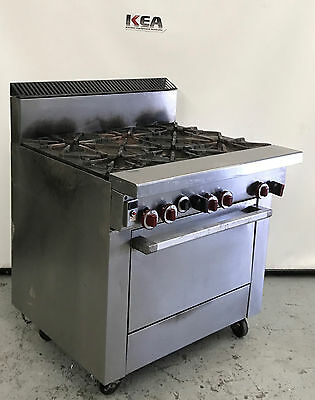 GARLAND 6 Burner & Fan Forced Oven  model : ST286RCF