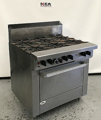 GARLAND 6 Burner & Range Oven  model : S286