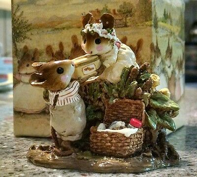 Wee Forest Folk - Picnic on the Riverbank - item# FS-06  - New with Box
