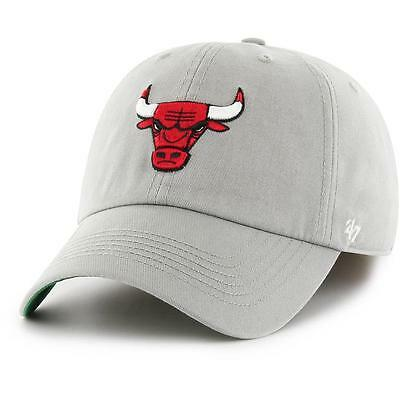 Chicago Bulls NBA Supporters Hat Franchise Cap In Grey - 47 Brand Baseball Cap