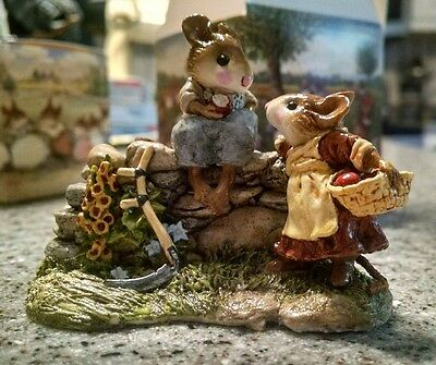 Wee Forest Folk - Wayside Chat - item# FS-07  - New with Box
