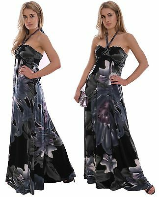 Long Dress Summer Evening Holiday Resort Casual Maternity Suitable MontyQ UK