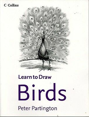 ART BOOK - LEARN TO DRAW BIRDS By Peter Partington
