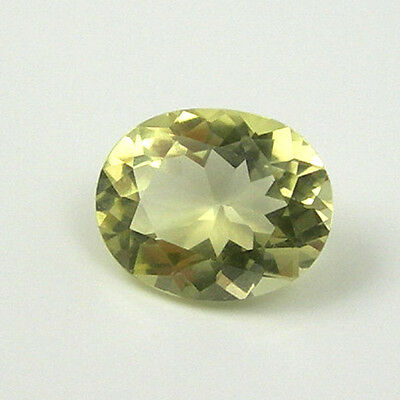 4.29 carat 12x10mm Oval Yellow Color Natural Citrine Gemstone Loose