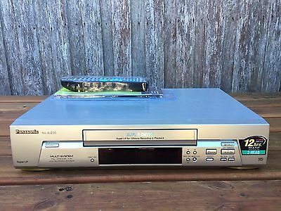 Serviced Panasonic NV-SJ200 Video Recorder Player + REMOTE VHS Player VCR D