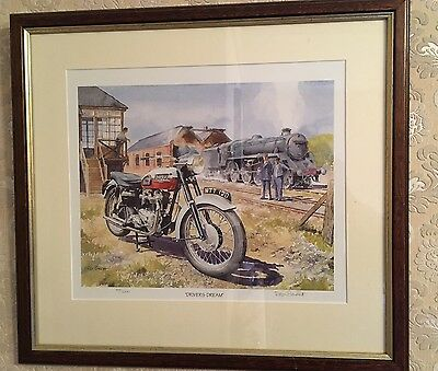 Roy Barrett Limited Edition Framed Print 'Drivers Dream'