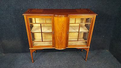 QUALITY INLAID MIRROR BACK SIDEBOARD. may be able to deliver from SR83LA