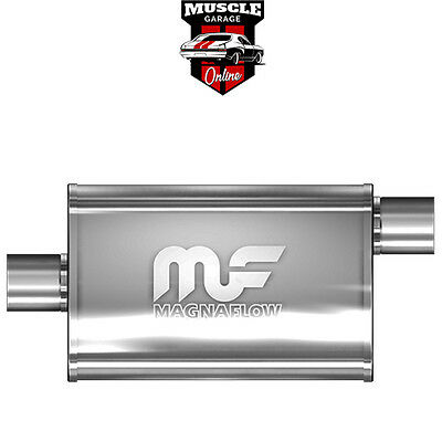 "14329 - 3"" Inlet/Outlet 4""x9""x14"" Body - Stainless Steel Magnaflow Muffler"