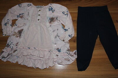 NEXT girls tunic / dress leggings outfit 12-18 months *I'll combine postage