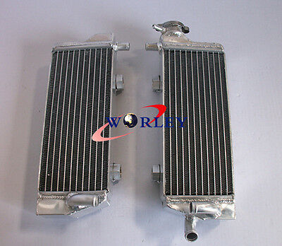 For KTM 125/200/250/300 SX/EXC/MXC 2008-2013 08 09 10 11 12 13 Aluminum Radiator