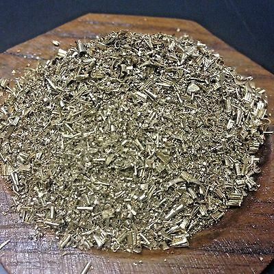 1LB Brass Turnings Shavings Orgone Metal Science Craft Orgonite Art Supplies Dry