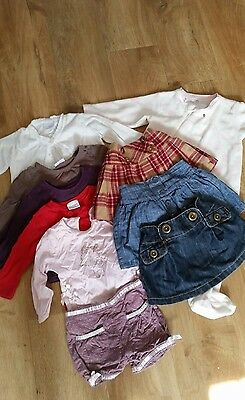 Girls age 9-12 months clothing bundle, Next, baby boutique
