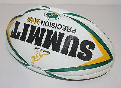 Wallabies Summit Precision X12 Official Match Ball Rugby Union Rugby Ball